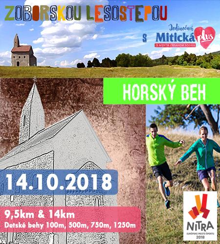 banner Zoborskou Lesostepou