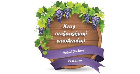 banner Kros Orešanskými vinohradmi 2019